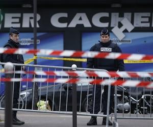 Le supermarché casher à Paris où avait eu lieu la prise d'otages.
