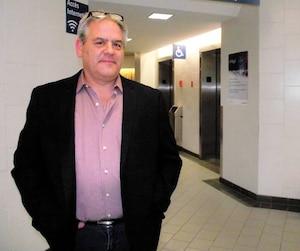L'ex-maire de L'Assomption Jean-Claude Gingras lors de son procès, jeudi, au palais de justice de Joliette.