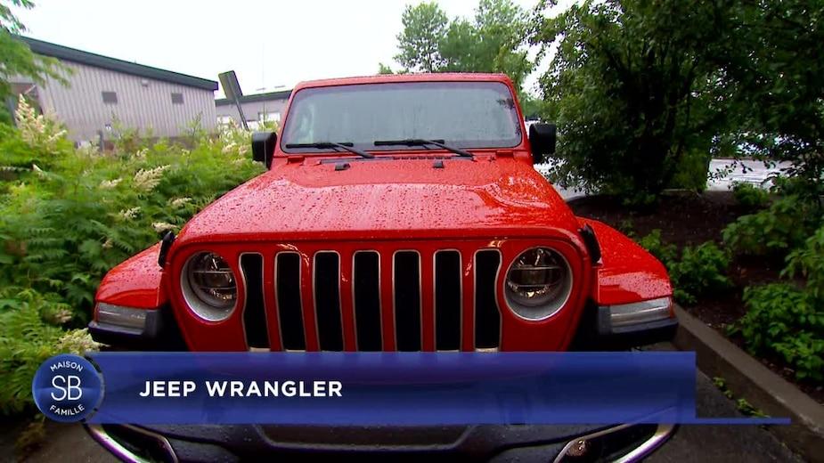 Le Jeep Wrangler 2019