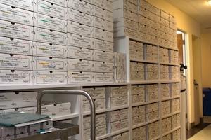 Les cas s'accumulent dans les corridors de l'hôpital Santa Cabrini.