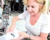 Martine Lavoie ne songe pas à la retraite. Elle est trop occupée à vivre sa passion pour les pierres précieuses.