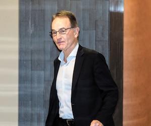 Michael Novak, ancien grand patron de SNC-Lavalin International et mari de l'ex-ministre libérale Kathleen Weil, a témoigné hier au palais de justice de Montréal.