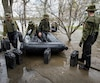 Inondations aide militaires