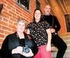 Annick Sauvé, Vanessa Cournoyer-Cyr et Pierre Vignau se sont donné rendez-vous dans une brûlerie de Sherbrooke.