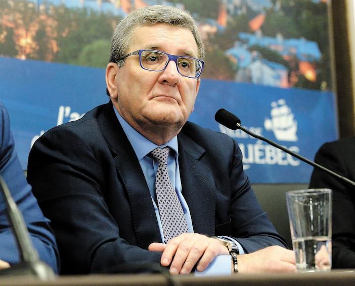 Régis Labeaume s'est donné pour pari de garder les jeunes à Québec.