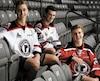 Xavier Cormier, Gabriel Montreuil et Félix-Olivier Chouinard ont tous les trois réalisé un rêve de jeunesse lorsque leur place a été confirmée au sein de l'alignement final des Remparts de Québec.