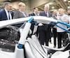 Campagna a dévoilé hier le prototype hybride de son T-Rex lors du passage du premier ministre Couillard au Salon du véhicule électrique de Montréal. Ce type de véhicule fait partie des «niches» dans lesquelles le Québec peut se démarquer, croit celui-ci.