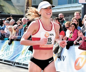 Mélanie Myrand voit comme «un bon défi» son objectif de terminer dans la première moitié des 73 concurrentes au marathon féminin des championnats du monde.