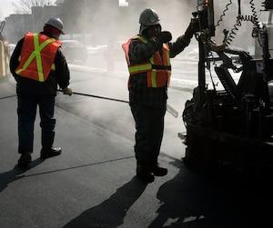 Bloc Asphaltage construction routes