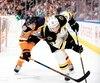 Patrice Bergeron connaît encore un bon début de saison avec les Bruins.