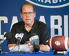 Danny Maciocia, l'entraîneur-chef de la formation de l'équipe de football des Carabins de l'Université de Montréal.