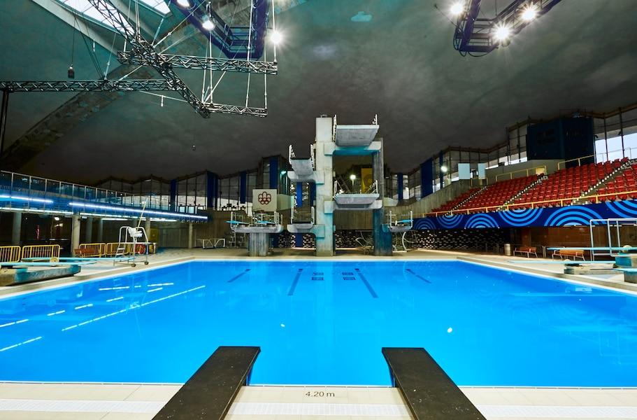 Le nouveau centre sportif du parc olympique ouvrira ses for Centre sportif terrebonne piscine