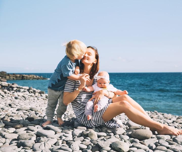 Voyez ces 5 destinations vacances avec des tout-petits!