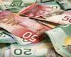 canadian money dollars argent billets