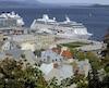 De gros navires de croisière sont attendus d'ici lundi au port de Québec.