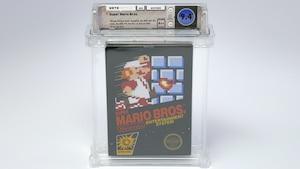 Un exemplaire de Super Mario Bros. vendu 130 000 $