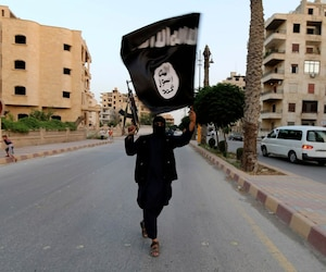 Bloc état islamique ÉI ei