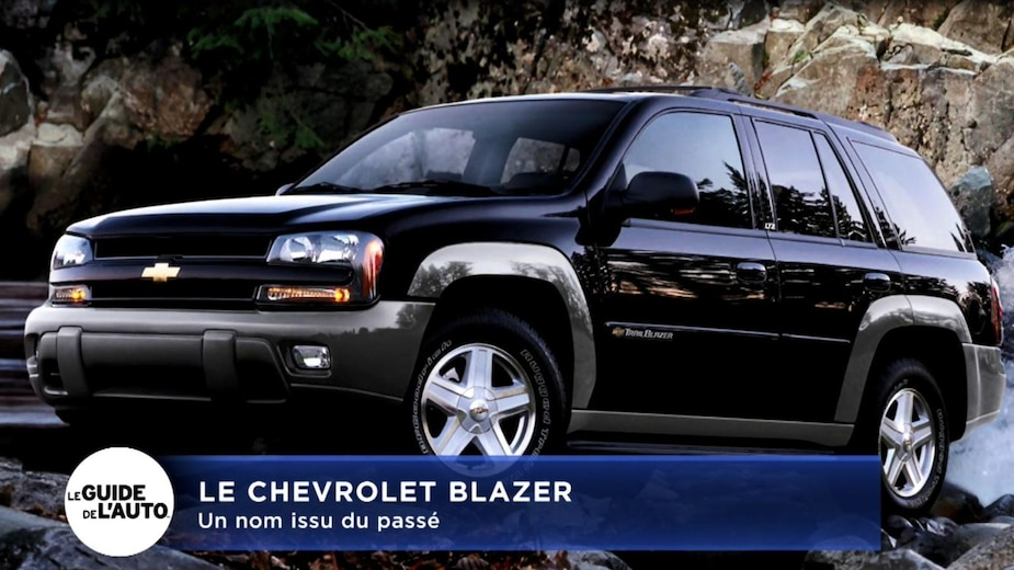Le nouveau Chevrolet Blazer