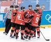 Les joueurs canadiens doivent remporter trois «septième match» pour toucher l'or.