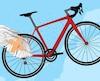 """«Si j'avais des ailes sur mon """"bike"""", je partirais pour ... Québec!» Ben c'est ça que j'ai fait!"""