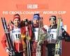 Le Québécois Alex Harvey n'a été devancé que par le Russe Alexander Bolshunov, terminant 47,1 secondes derrière le médaillé d'or. Le Suisse Dario Cologna a complété le podium.