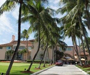 Club privé de Donald Trump à Mar-a-Lago en Floride.