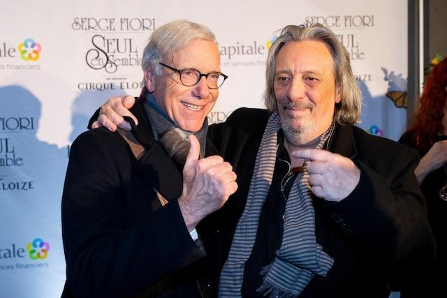 Serge Fiori et Pierre Bruneau