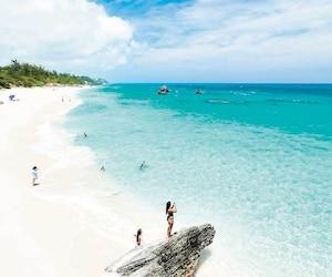 Les plages des Bermudes sont réputées pour leur sable doux.