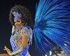 La première princesse du Carnaval de Rio 2018, Deisiane Jesus.