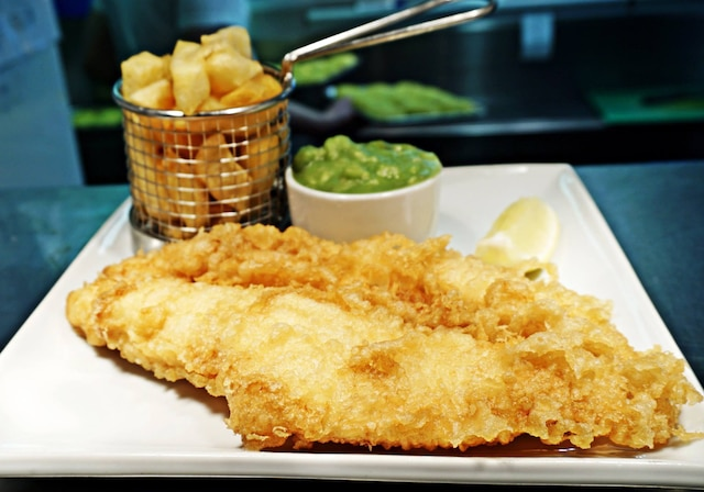 Le fish and chips du Tailend Restaurant And Fish Bar