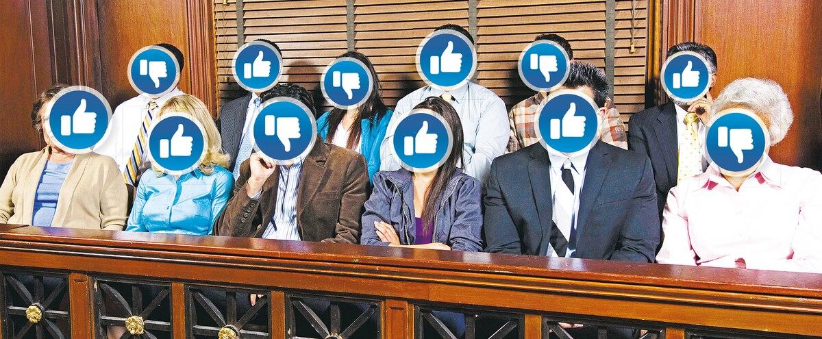 Des avocats identifient des jurés grâce à Facebook