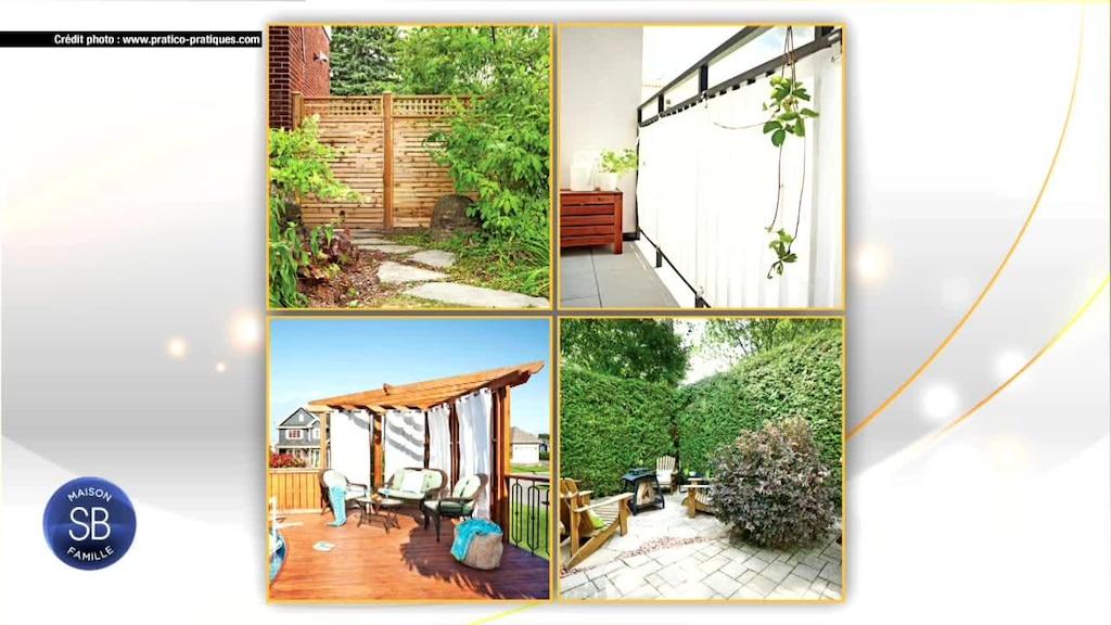 Enjoliver notre terrasse