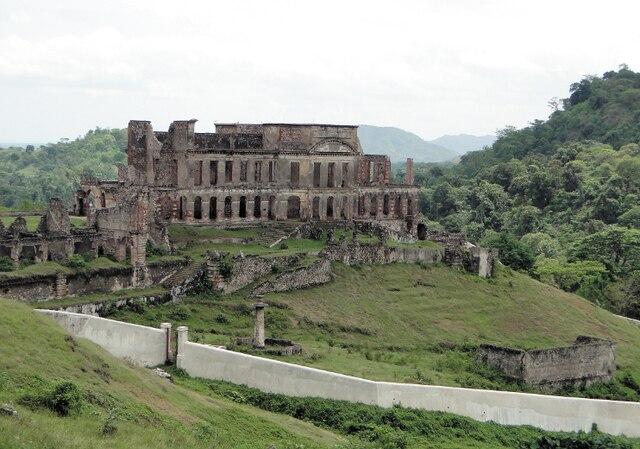Le Palais Sans Souci, la résidence du roi Christophe, dans la région de Cap-Haïtien.