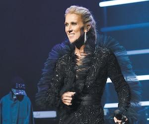 Céline Dion a annoncé sa tournée mondiale lors d'un mini-concert au théâtre du Ace Hotel de Los Angeles mercredi.