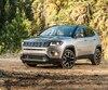 Le Jeep Compass, entièrement revu pour 2017, prend des allures de Grand Cherokee miniature. La photo montre un Compass Limited.