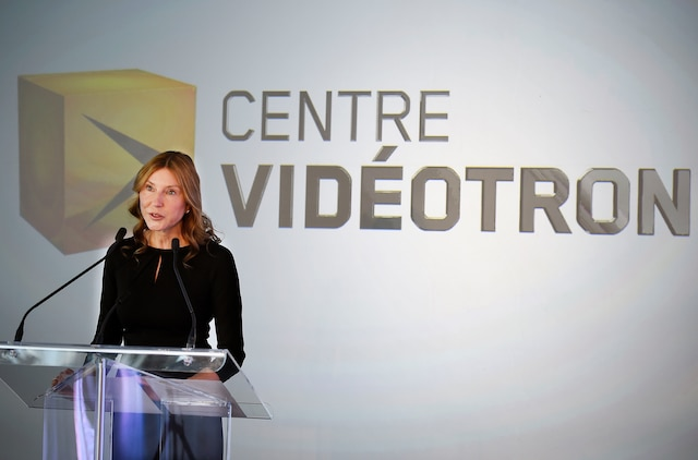 La présidente de Vidéotron, Manon Brouillette.