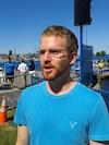 Simon Tobin sera à bord d'une embarcation et livrera ses commentaires en direct lors de la diffusion sur le Web de la Traversée, aujourd'hui.