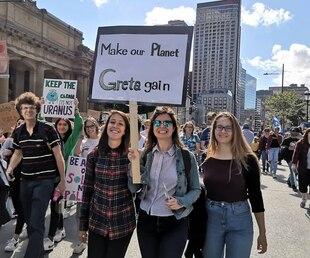 Image principale de l'article Les photos de la marche pour le climat