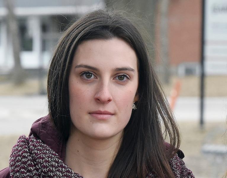 Frédérique Fiset-Cholette dit être victime d'intimidation dans le cadre du processus électoral étudiant qui est en cours présentement.