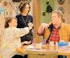 Courtoisie ABC : Les personnages de Roseanne, Darlene et Dan.