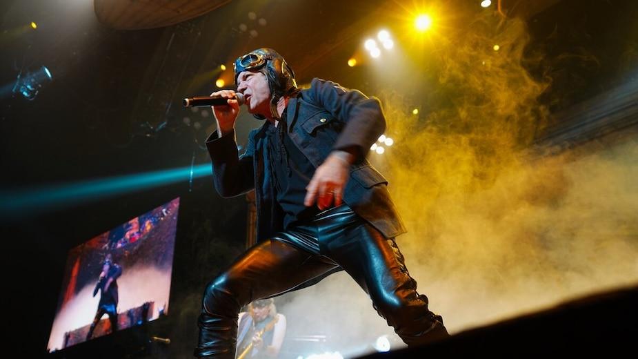Image principale de l'article Le chanteur d'Iron Maiden arrête carrément un show