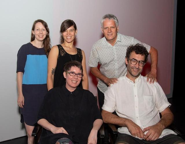 Patti Schmidt, Vincent Lemieux, Katharina Meissner, Claudine Hubert et Alain Mongeau