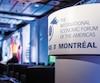 La 25e édition de la Conférence de Montréal s'est conclue hier dans un hôtel de la métropole.