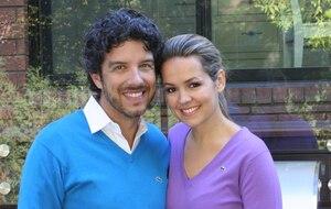 Jean Airoldi et Valérie Taillefer alors qu'ils rénovaient leur chalet en 2012