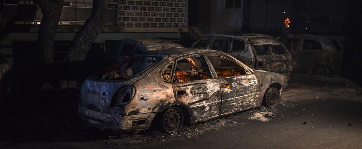 suède: quelque 80 voitures brûlées à göteborg, deux personnes