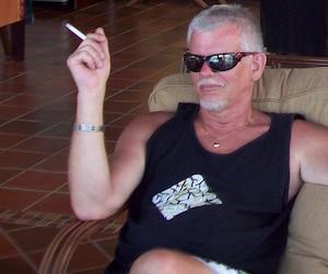 Ian Davidson lors d'un séjour dans le condo de son frère au Costa Rica.