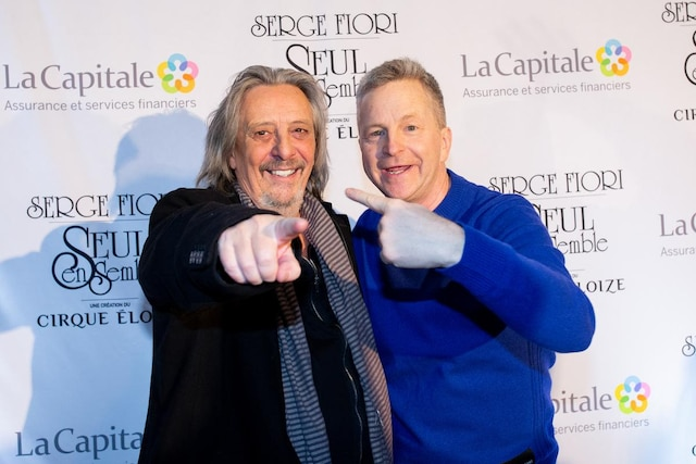 Serge Fiori et André Robitaille