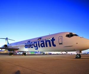 Allegiant Air propose des vols à prix réduits au départ de l'aéroport de Plattsburgh.