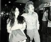 Starmania a été une période importante pour Fabienne Thibeault. On la voit ici en compagnie de Luc Plamondon, coauteur de l'opéra rock.