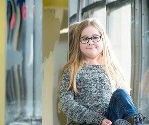 Allyson Lambert, âgée de 16 ans, est née avec un cancer agressif. La chimiothérapie a même attaqué son cœur et hypothéqué sa croissance.